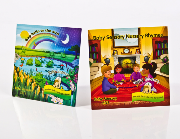 CD: Baby Sensory Music Collection (CDs 1, 2 & 3)
